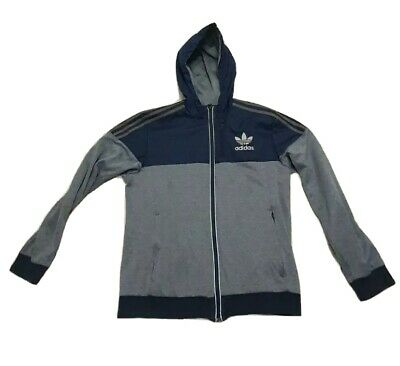£4.99 • Buy Adidas Hooded Track Top Jacket Small