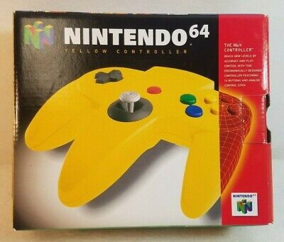$ CDN68.06 • Buy Yellow Controller (Nintendo 64 | N64) Authentic - BOX ONLY