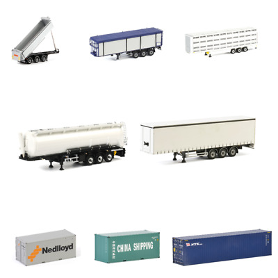 £53.99 • Buy WSI Truck Trailers Containers And Loads Ideal For Code 3 1:50 Scale