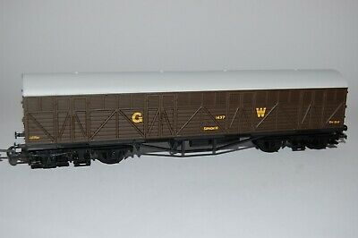 £16 • Buy Mainline 00 Gauge GWR Bogie Wagon #1437 Brown, Boxed, In Excellent Condition