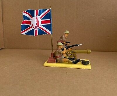 £25 • Buy Britains Deetail WW2 British 8th Army Vickers  Machine With Crew ( Conversion)
