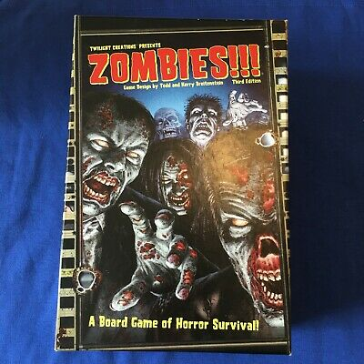 £20 • Buy Zombies Horror Board Game Teens Adults Rare