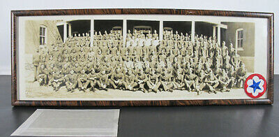 $ CDN2.73 • Buy WWII ⅔ Yard Long Panoramic Photograph W/Negative 442 Engineers Fort Snelling Yqz
