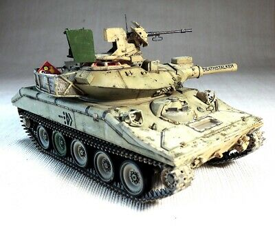 $229 • Buy PRO-BUILT 1/35 M551A1 A1(TTS) SHERIDAN, Finished Model (IN STOCK)