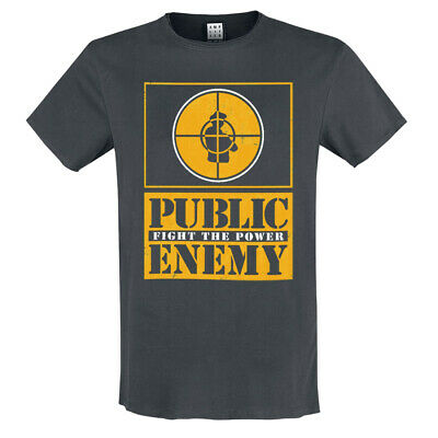 £18.95 • Buy Amplified Public Enemy Yellow Fight The Power T-Shirt