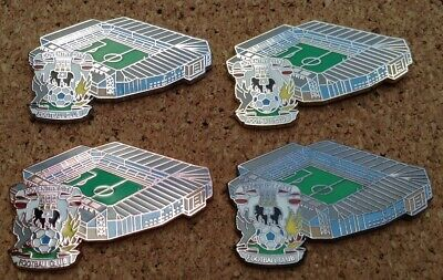 £12 • Buy *NEW* Set Of 4 Coventry City FC - Highfield Road Stadium Pins/Badges