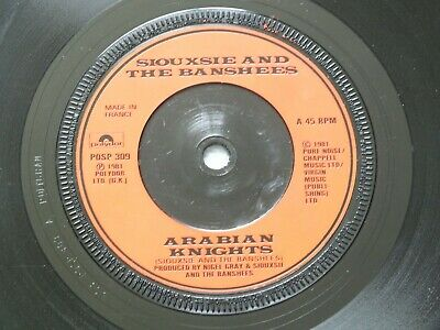 £0.25 • Buy Siouxsie And The Banshees - Arabian Knights UK 7  Single