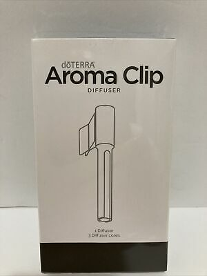 AU21.60 • Buy DoTerra Essential Oil Aroma Clip Diffuser 3 Cores For Home Or Car New Sealed