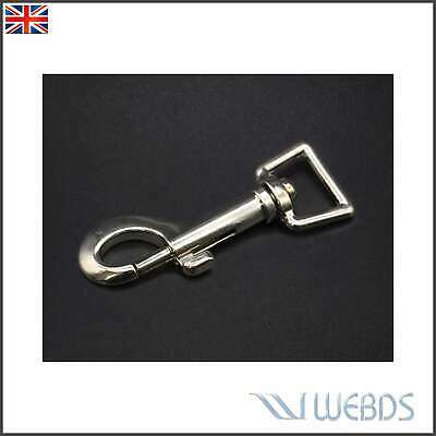 £2.99 • Buy Swivel Trigger Clip 20mm Webbing  Dog Lead Leather Craft Snap Hook Strong