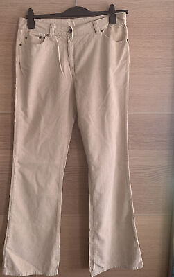 """£9.99 • Buy Dorothy Perkins Flared Cords Trousers Jeans Size 14 Inside Leg 34"""" 🌸"""