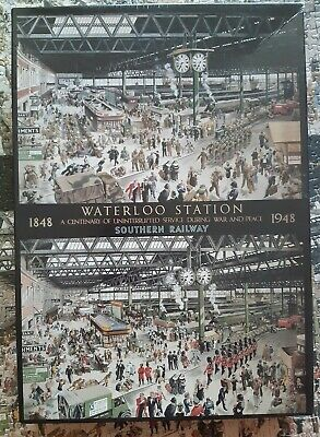 £0.99 • Buy Gibsons Waterloo Station 1848-1948 Centenary, 1000 Pieces COMPLETE