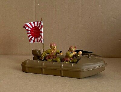£20 • Buy Britains Deetail Ww2 Japanese Search  Boat With 2 Man Crew ( Conversion)