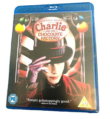 £6.99 • Buy Charlie And The Chocolate Factory (Blu-ray, 2009)