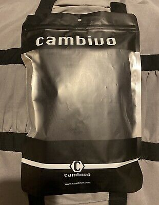 $9 • Buy Cambivo Compression Knee Brace Sleeve Support Black Size Large NEW, Unused