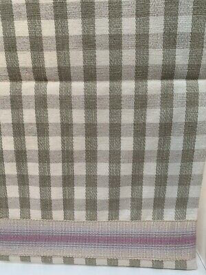 £100 • Buy Gingham Roman Blinds Lined Soft Check Cream Grey Brown. Also Have Curtains