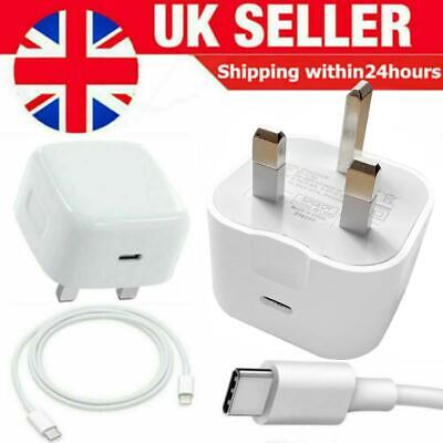£8.25 • Buy 100% Genuine CE Charger/Cable PD Plug 20W For Apple IPhone 12 PRO MAX 11 XR XS