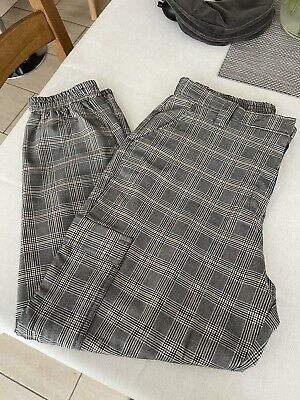 £0.99 • Buy Cargo Trousers Size 16 Checked Pattern Never Worn