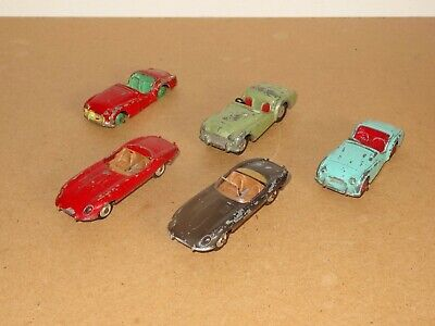 £19.95 • Buy A Collection Of Vintage Model Sports Cars By Dinky & Corgi Toys - Job Lot