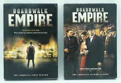 £9.20 • Buy Boardwalk Empire DVD The Complete First & Second Season, 10 Discs