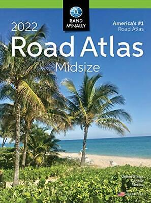 £8.05 • Buy Rand Mcnally USA Road Atlas 2022 BEST Large Scale Travel Maps USA Midsize NEW