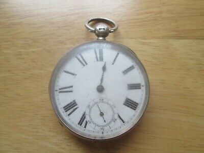 £18.99 • Buy Antique Victorian Waltham Mass.gents Silver Cased Pocket Watch For Repair 1884