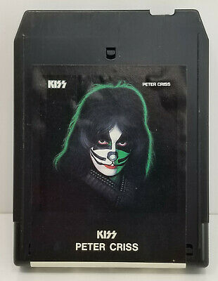 $21.99 • Buy Vintage 8-Track Tape KISS Peter Criss -M4a796cf-7122