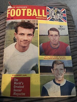 £2.99 • Buy Charles Buchan Football Monthly March 1966