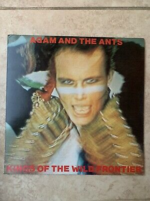 £15 • Buy ADAM AND THE ANTS - KINGS OF THE WILD FRONTIER VINYL LP. With BOOKLET. Epic 1981