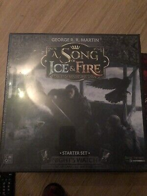 £55 • Buy A Song Of Ice And Fire Starter Set Nights Watch Bnib