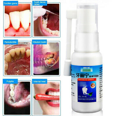£2.69 • Buy Toothache Pain Relief Teeth Care Sprays Effective Dental Tooth Pain Prevent Oral
