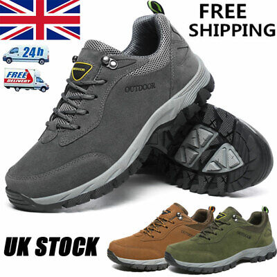 £25.99 • Buy New Mens Quality Hiking Boots Treking Trail Walking Trainers Shoes Boots Sizes