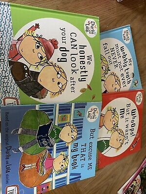 £2.50 • Buy 4 Charlie And Lola Books - 3 Hard Backed And 1 Paperback