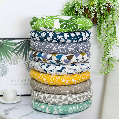 £5.12 • Buy Cotton Cushion Dining Chair Seat Pads Thick Pillow Sofa Cushion Mat Outdoor