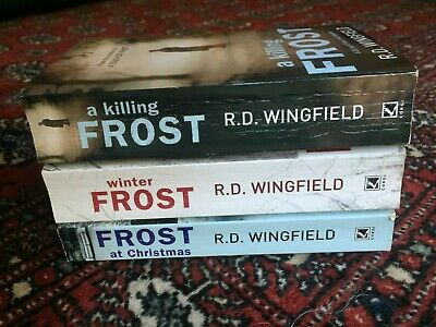 £3.59 • Buy R.D. Wingfield Frost Novels: Winter Frost, Frost At Christmas & A Killing Frost
