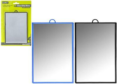 £4.98 • Buy Summit Glass Utility Mirror 12X17Cm With Stand In Blister Card - 1 Unit