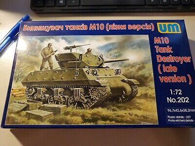 $15 • Buy M10 Tank Destroyer (late Version) << UM #202, 1:72 Scale