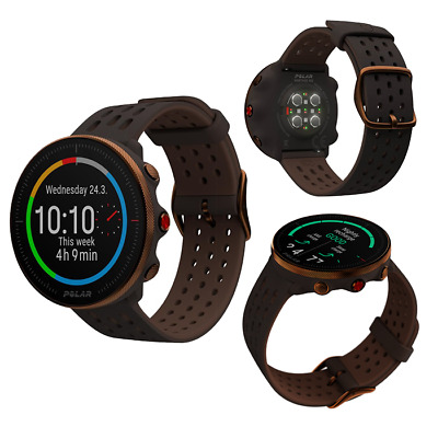 $400 • Buy Polar Vantage M2 Brown Copper Smart GPS Running Swimming Cycling Sports Watch