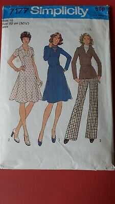 £0.99 • Buy Dressmaking Pattern Ladies Dress, Tunic, Trousers Simplicity 10 - 1 Pce Missing