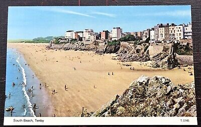 £3.80 • Buy South Beach Tenby Pembrokeshire Post Card