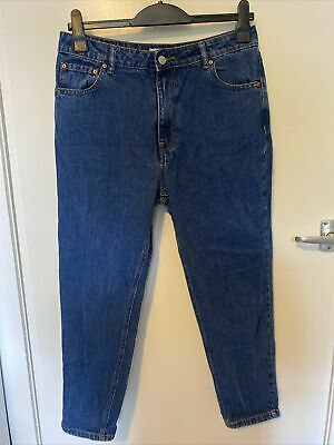 AU18.45 • Buy Pull And Bear Basic Mom Jeans Size 12