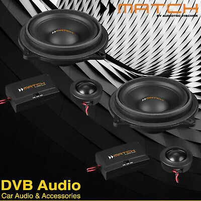 £189.99 • Buy MATCH UP Component Speaker Upgrade Fits BMW F10 5-Series Saloon 10-17