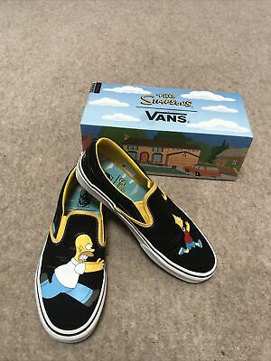 £40 • Buy Vans Classic Slip On Simpsons Size 8 Great Condition