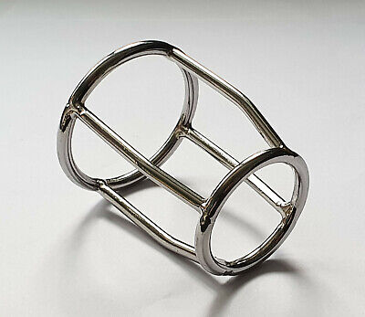 £7.50 • Buy Stainless Steel Male Double Penis Chastity Ring / Cage