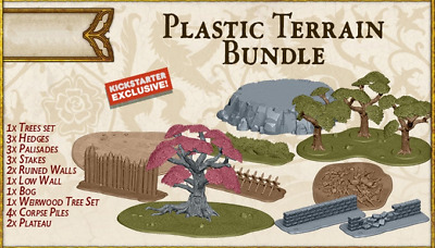 £53.10 • Buy A Song Of Ice And Fire Miniature Game Deluxe Terrain Set Kickstarter