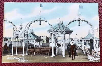 £4.60 • Buy On The Palace Pier Brighton Sussex Post Card
