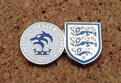 £4 • Buy *NEW* Chester FC & England Pin/Badge