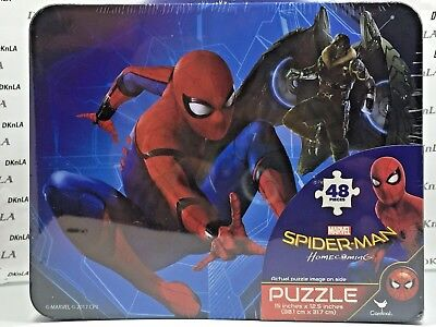 £10.62 • Buy Marvel's Spiderman Lunch Box (Tin) With 48 Piece Puzzle Inside - Brand New