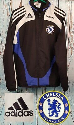 £34.99 • Buy Official Chelsea FC Football Tracksuit Top 08-09 Mens Retro Track Jacket