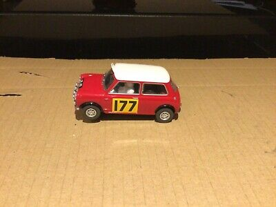 £25 • Buy Scalextric Morris Mini Cooper Rally Monte Carlo Car Used Tested See Descript.