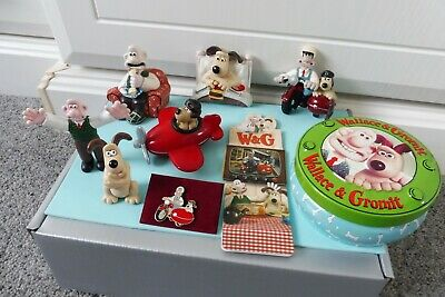 £16.99 • Buy Collection Of 9 Cute Wallace & Gromit Related Items
